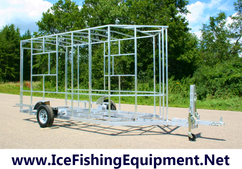 Drop Down Ice Fish House Frame